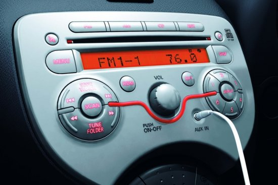 Nissan Eco Car Nissan March at Soni Motors Thailand CD player