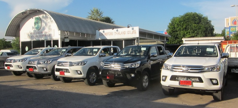 2016 Toyota Hilux Revo now in stock at Soni