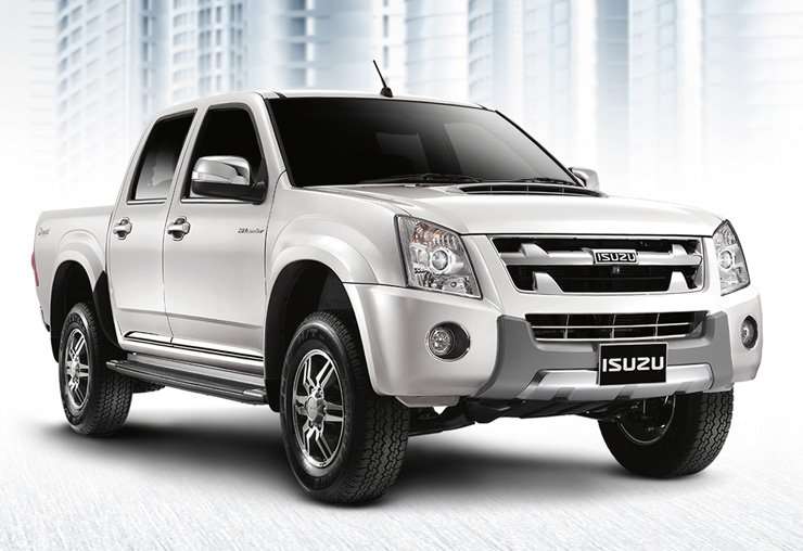 2012 2011 Isuzu Dmax Titanium on sale at Thailand top diesel pickup exporter Soni Motors Thailand is a workhorse