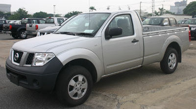 Nissan Frontier Navara Single Cab pickup truck introduced in Thailand