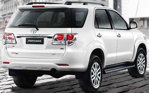2012 Toyota Fortuner rear available at Tahialnd top dealer SOni Motors