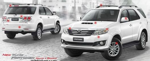 2011 2012 2013 Toyota Fortuner available now