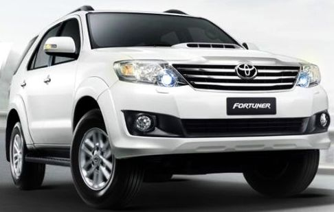 Toyota Fortuner 2013 Interior