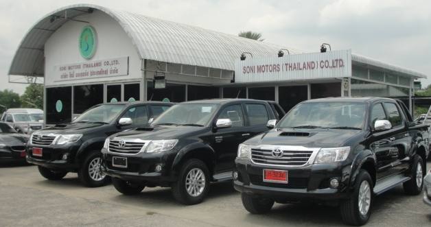 2012 Toyota Vigo Hilux Champ available now at Thailand top 4x4 dealer Soni Motors Thailand