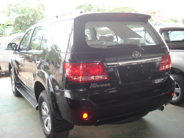 Soni is Asia's largest exporter of Left Hand Drive Toyota Fortuner