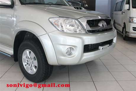 front light of LHD Toyota Hilux Vigo 2009