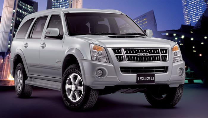 New Isuzu SUV