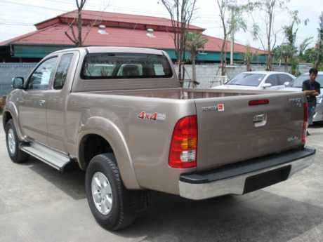 Toyota Hilux Vigo Smart Cab 2009 rear at Soni Motors Thailand